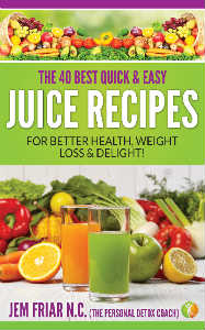 The 40 Best Quick & Easy Juice Recipes Book